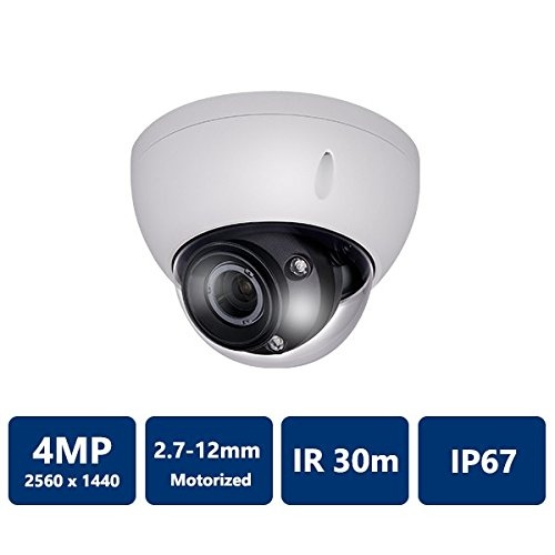 4.0Megapixel WDR HDCVI IR-Dome Camera 2.7-12 mm motorized Lens