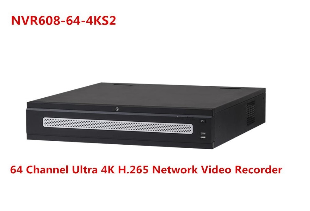 NVR608-64-4KS2 64 Channel Super 4K Network Video Recorder